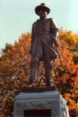 Alexander Hays Statue image. Click for full size.