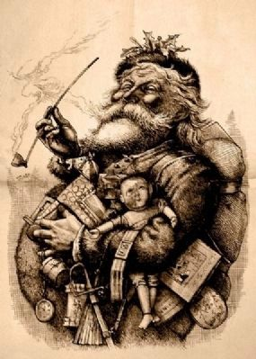 Jolly Old Saint Nick image. Click for full size.