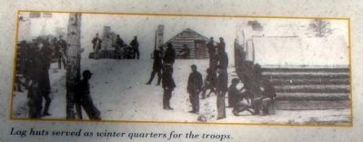 Closeup of Photo on Marker (Upper Right) image. Click for full size.