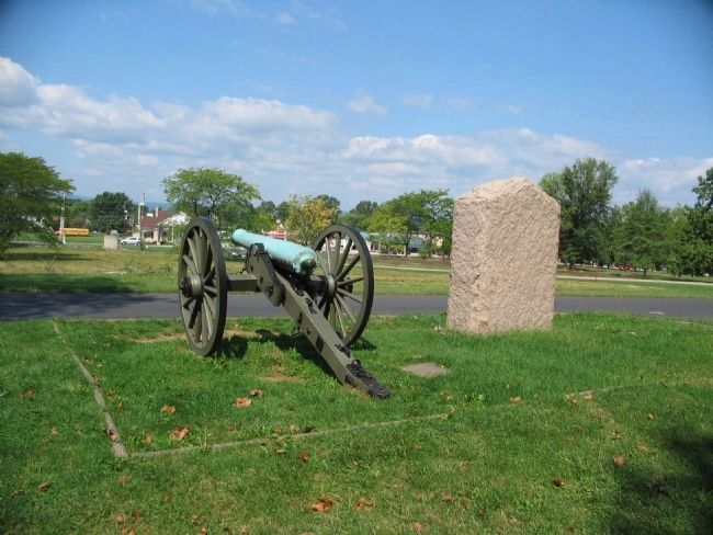 Battery I First U.S. Artillery Position image. Click for full size.