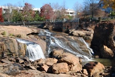 Reedy River Falls - The Heart of Greenville image. Click for full size.