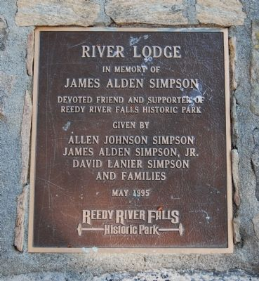River Lodge Marker image. Click for full size.