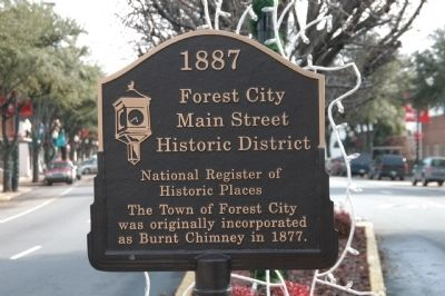 Forest City Marker image. Click for full size.