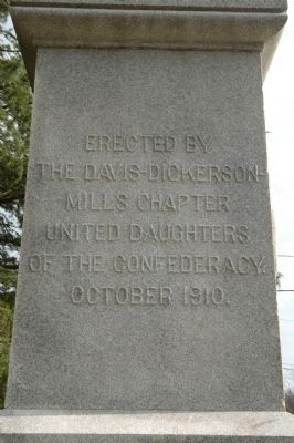 Rutherfordton Confederate Monument Marker image. Click for full size.