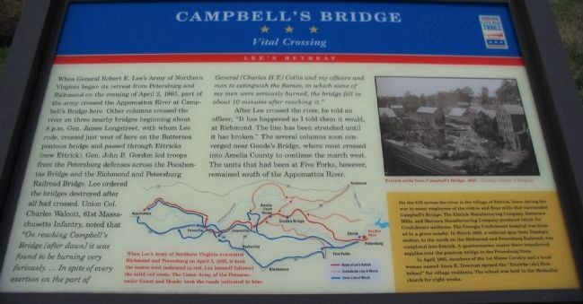 Campbell's Bridge Marker image. Click for full size.