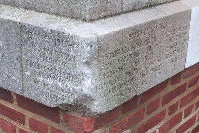 Calvert Hall Cornerstone, 1913-14 image. Click for full size.