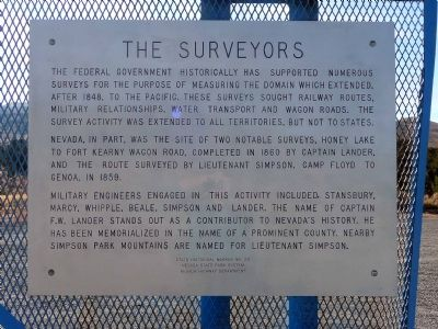 The Surveyors Marker image. Click for full size.