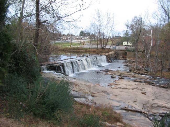 Swift Creek Mill Dam image. Click for full size.