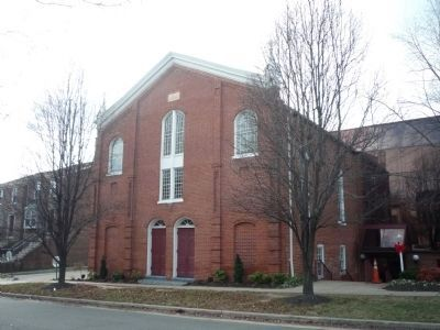 "Alfred Street Baptist Church, south wing - the ""Old Church"" image. Click for full size."