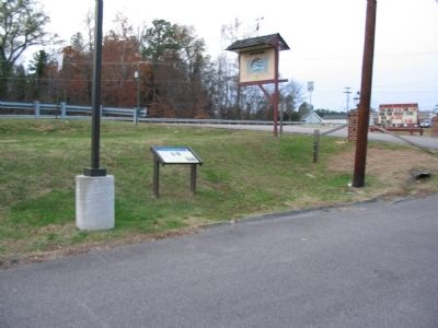 Battle of Swift Creek Marker image. Click for full size.