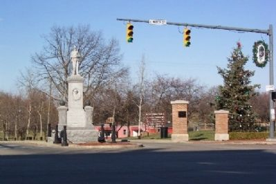 Enderlin's Civil War Memorial image. Click for full size.