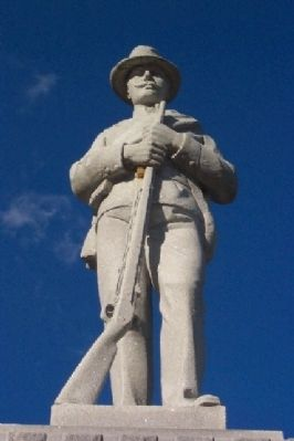 Enderlin's Civil War Memorial Statue image. Click for full size.