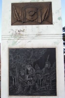 Ross County Civil War Memorial (South Face) image. Click for full size.