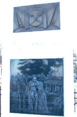 Ross County Civil War Memorial (North Face) image. Click for full size.