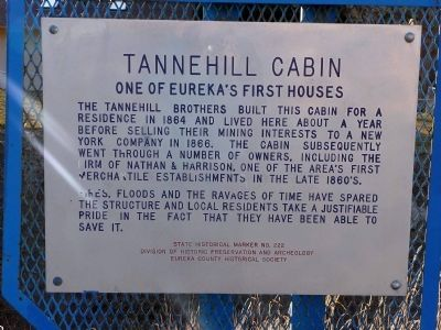 Tannehill Cabin Marker image. Click for full size.