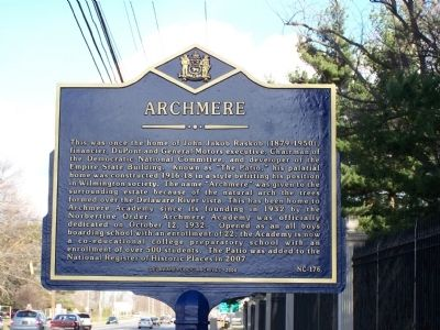 Archmere Marker image. Click for full size.