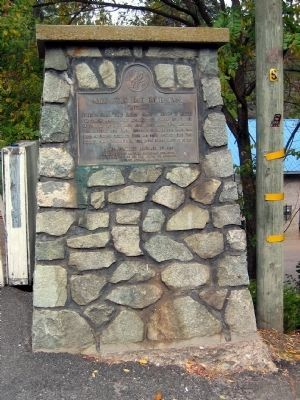 Groveland - Mark Twain Bret Harte Trail Marker image. Click for full size.