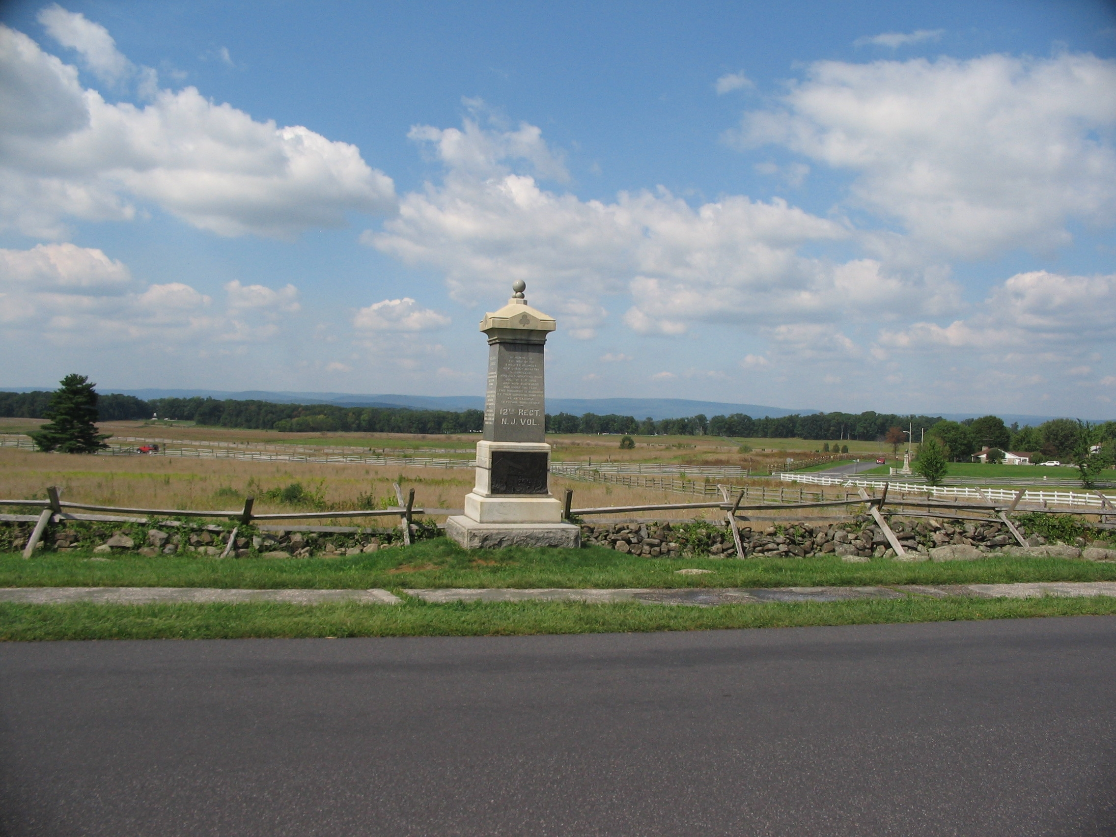 12th Regiment New Jersey Volunteers Monument