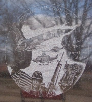 Coshocton County Vietnam War Memorial Detail image. Click for full size.