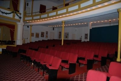 Abbeville Opera House Interior<br>Orchestra Seating image. Click for full size.