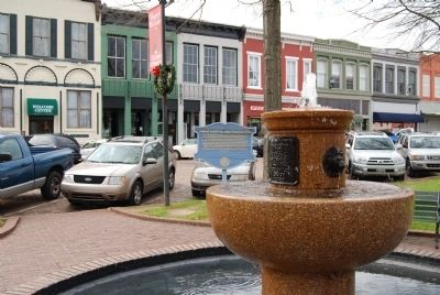 Humane Society Alliance Fountain -<br>South Side of Court Square image. Click for more information.