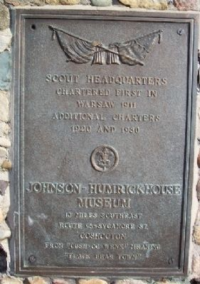Scout Headquarters Marker image. Click for full size.