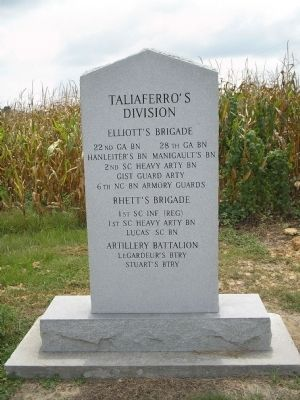 Taliaferro's Division Monument image. Click for full size.