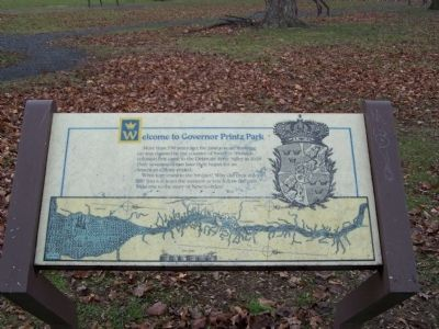 Governor Printz Park History Trail image. Click for full size.