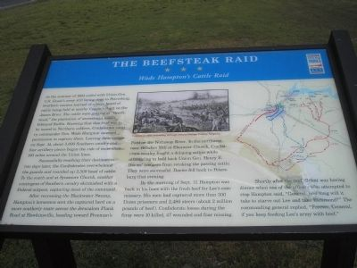 The Beefsteak Raid Marker image. Click for full size.