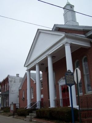 Calvary Baptist Church and MLK, Jr. Marker image. Click for full size.