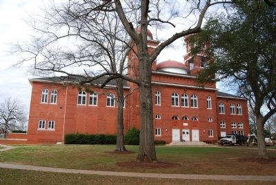 Erskine College -<br>Lesesne Auditorium (1892) image. Click for full size.