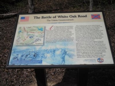 The Union Counterattack Marker image. Click for full size.
