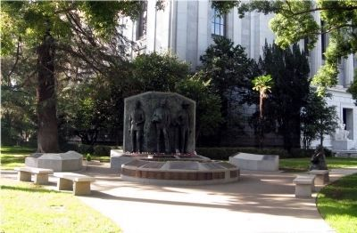 The California Peace Officers Memorial image. Click for full size.