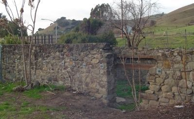 Foundation of Vallejo Flour Mill image. Click for full size.