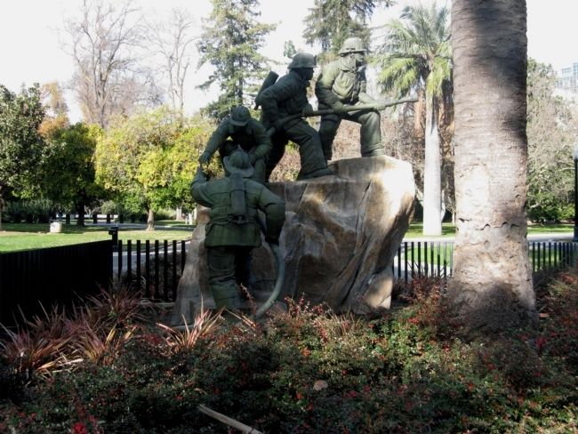 California Firefighters Memorial image. Click for full size.