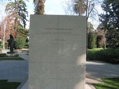 California Firefighters Memorial Marker image. Click for full size.