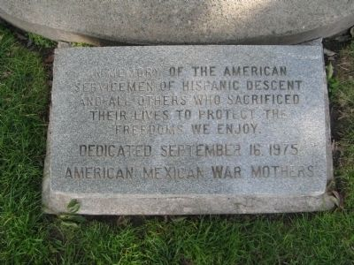 California Mexican-American War Memorial Marker image. Click for full size.