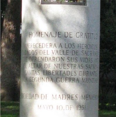 California Mexican-American War Memorial image. Click for full size.