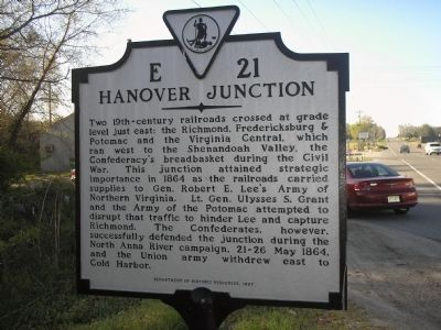 Hanover Junction Marker image. Click for full size.