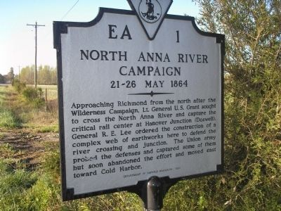 North Anna River Campaign Marker image. Click for full size.
