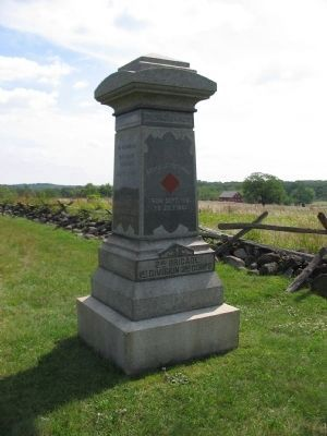 99th Regiment Pennsylvania Volunteers Monument image. Click for full size.