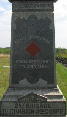 99th Regiment Pennsylvania Volunteers Marker image. Click for full size.