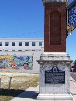 Ybor City Historic District Marker image. Click for full size.