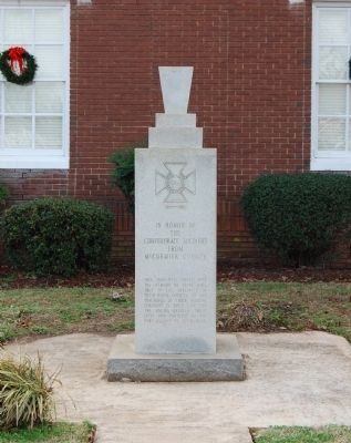 McCormick County Confederate Monument image. Click for full size.