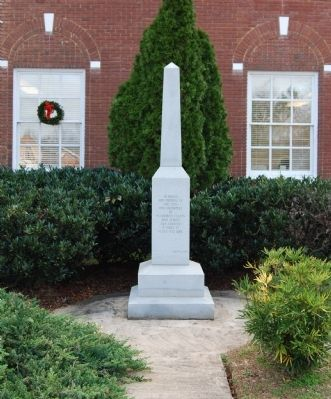 McCormick County Veterans Monument image. Click for full size.