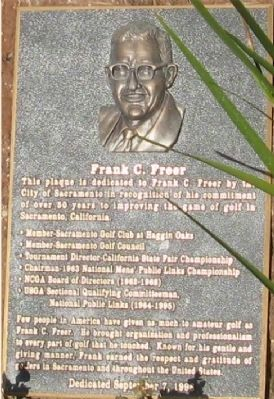 Frank C. Freer Marker image. Click for full size.
