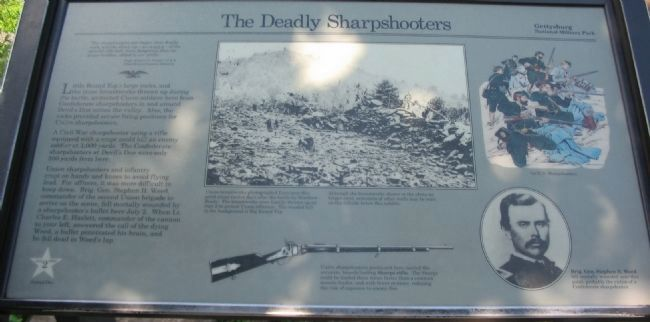 The Deadly Sharpshooters Marker image. Click for full size.
