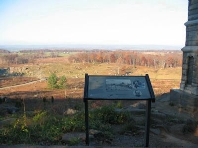 Looking over the Marker toward Devil's Den image. Click for full size.