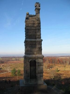 91st Pennsylvania Infantry Monument image. Click for full size.