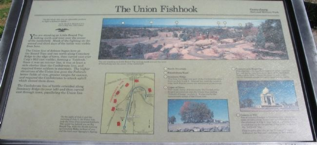 The Union Fishook Marker image. Click for full size.